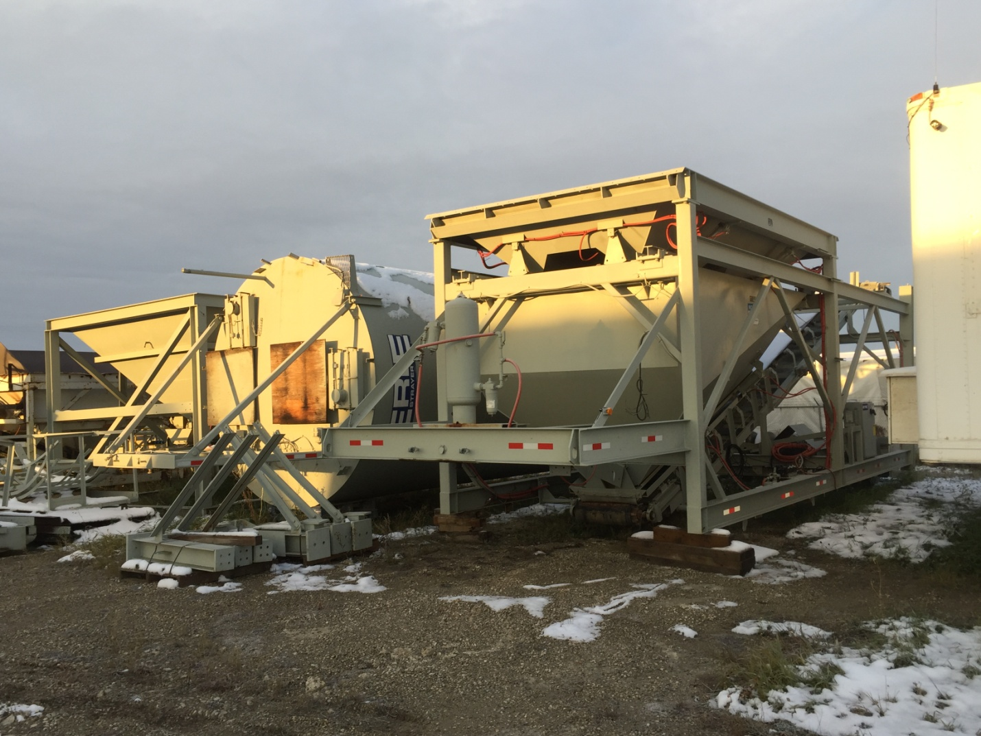 Used 2006 Erie Strayer Portable Concrete Batch Plant