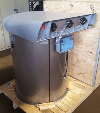 WAM RO-3 SiloTop Dust Collector