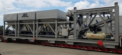 Aggregate Hopper for Concrete Batching System