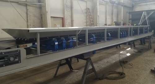 Conveyor System for Concrete Batching Plant