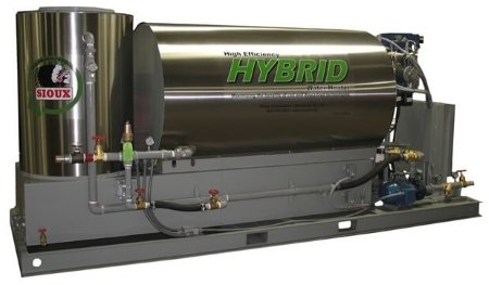 Sioux Hybrid Water Heater for Concrete Batch Plants