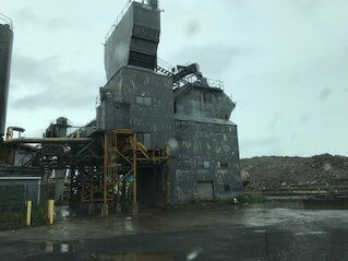 1987 Erie Strayer Used Concrete Batch Plant