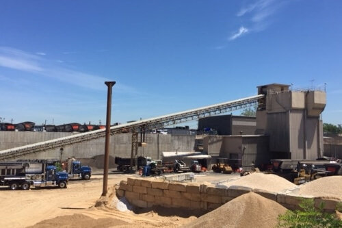Used 1989 Erie Strayer Concrete Batch Plant