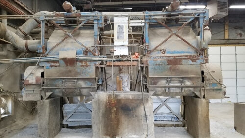 Used Praschak Concrete Mixer - 21 cu. ft.