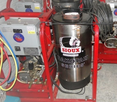 Used Sioux H3D750 Oil Fired Pressure Washer