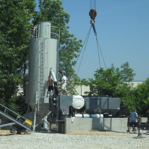 Used 9-yard Zim Mixer Volumetric Plant - 2013